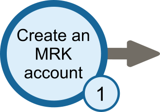 Create an MRK account