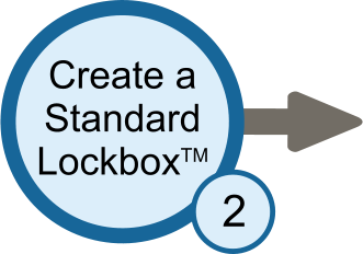 Create a Standard Lockbox™